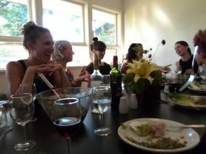 family dinner - july 9 - 17