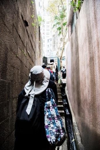 CW HK narrow alley